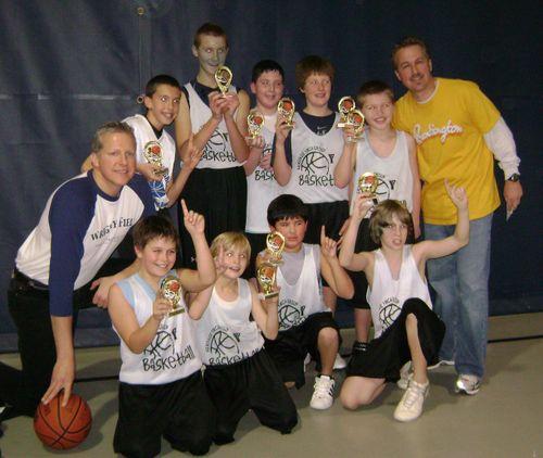 5th Grade YMCA Spirit League Bball Champs 2008
