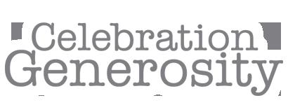 Celebration Generosity