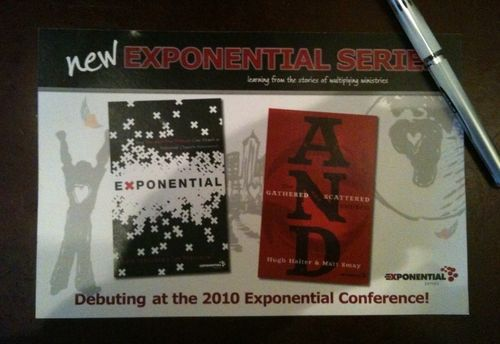 Exponential book adv mailer