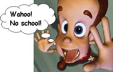 لا للمدرسة بالصور No_school